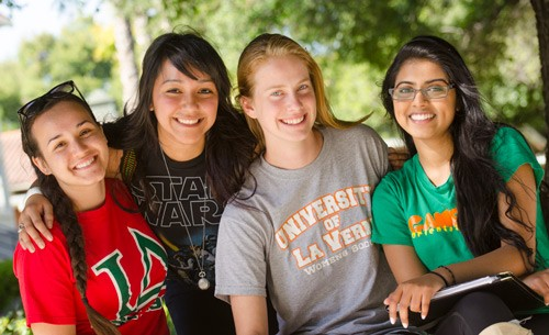 University of La Verne students