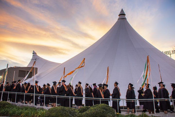 Every winter and spring, the University of La Verne community gathers to celebrate its graduating students at commencement. Multiple ceremonies honor undergraduate, graduate, and doctoral candidates from all walks of life and from the university's 10 campuses across California.