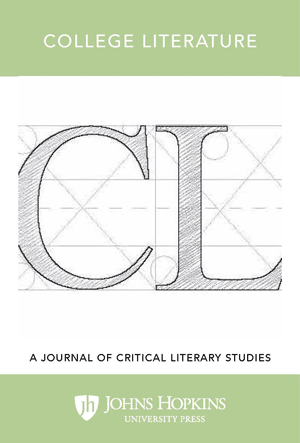 College Literature: A Journal of Critical Literary Studies
