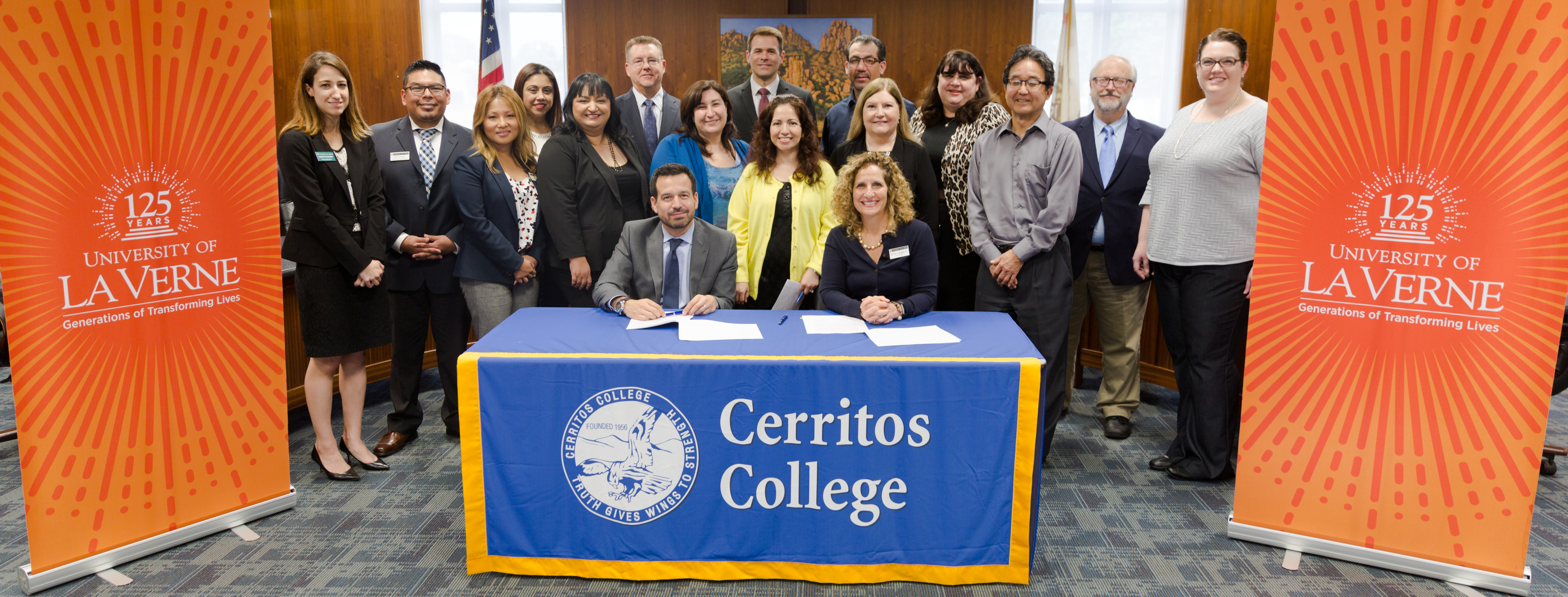 ULV Partners with Cerritos College | University of La Verne