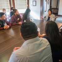 Dolores Huerta visits for a screening of her film