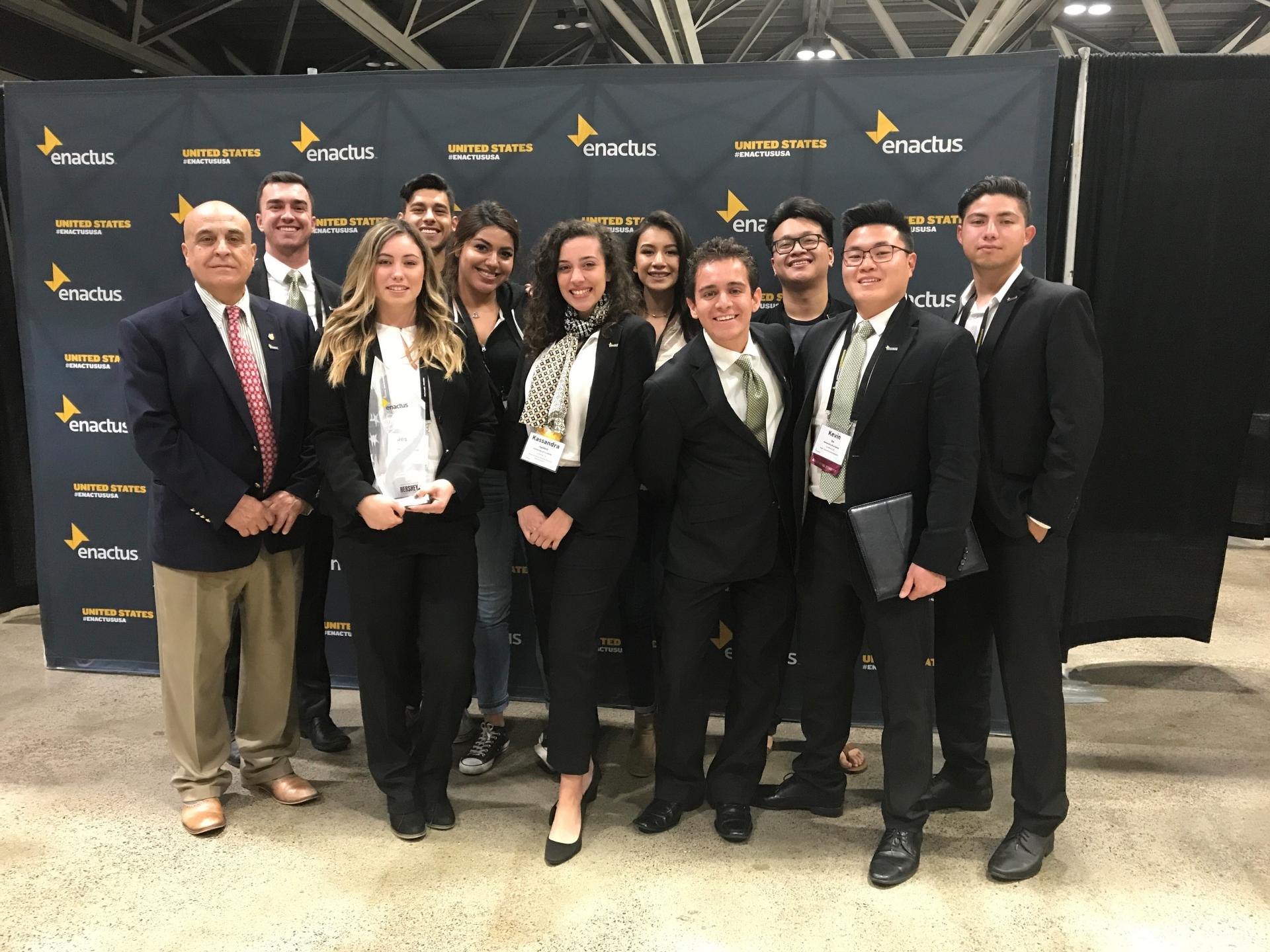 University of La Verne Enactus team.