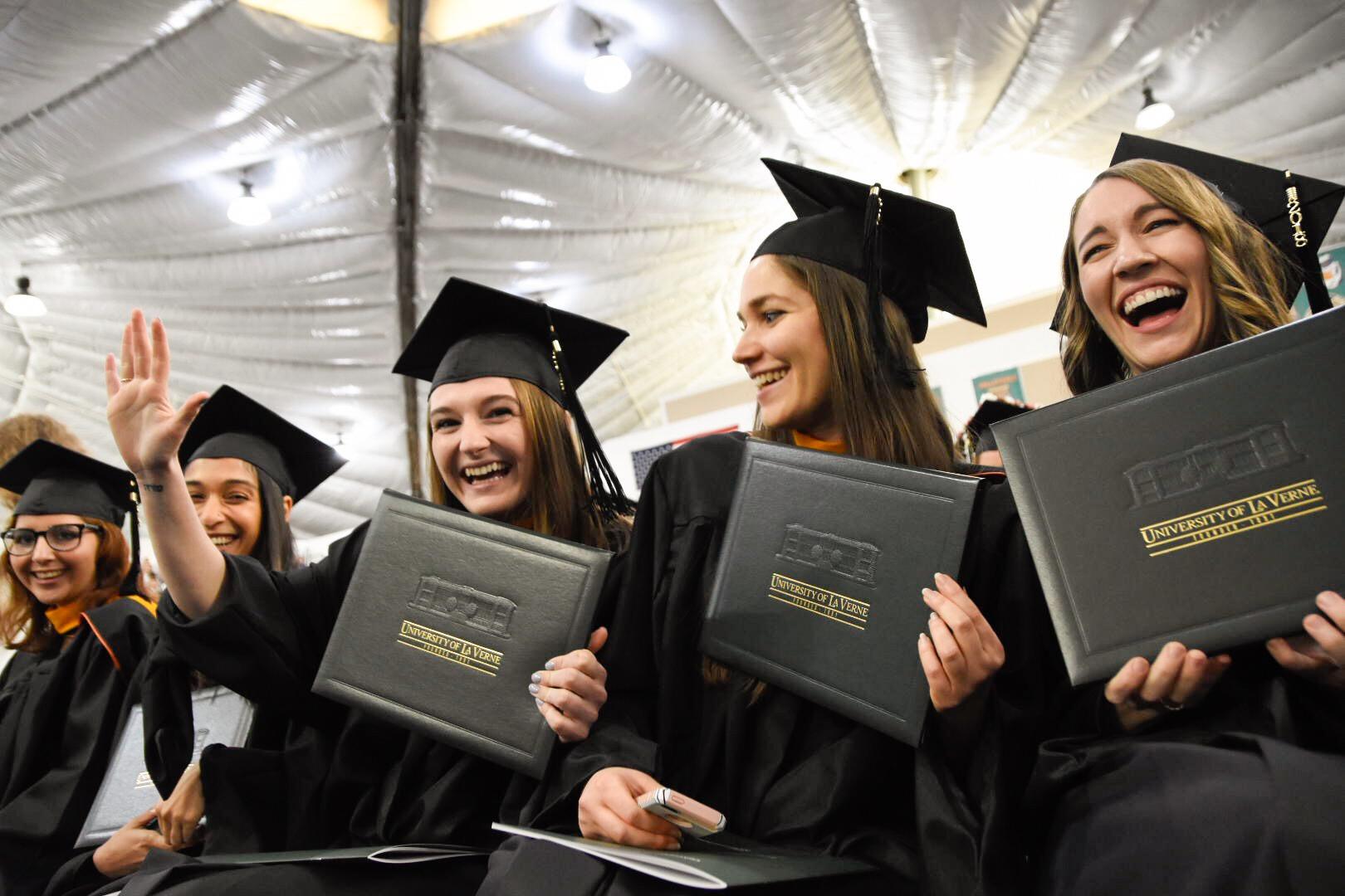 more than 650 graduate in university of la verne winter