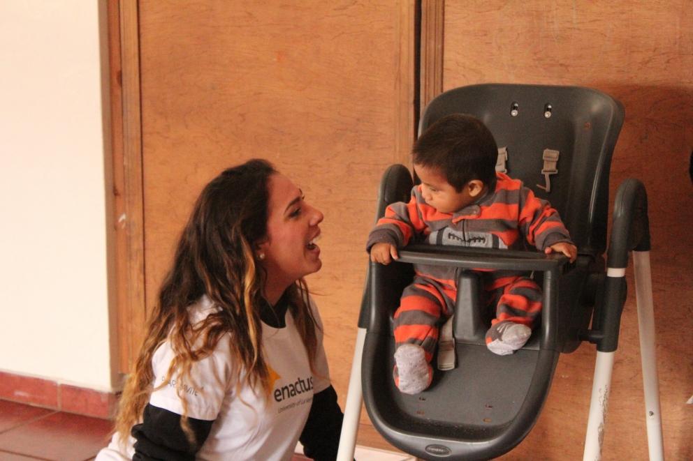La Verne Enactus Volunteers Help Ensenada Orphanage