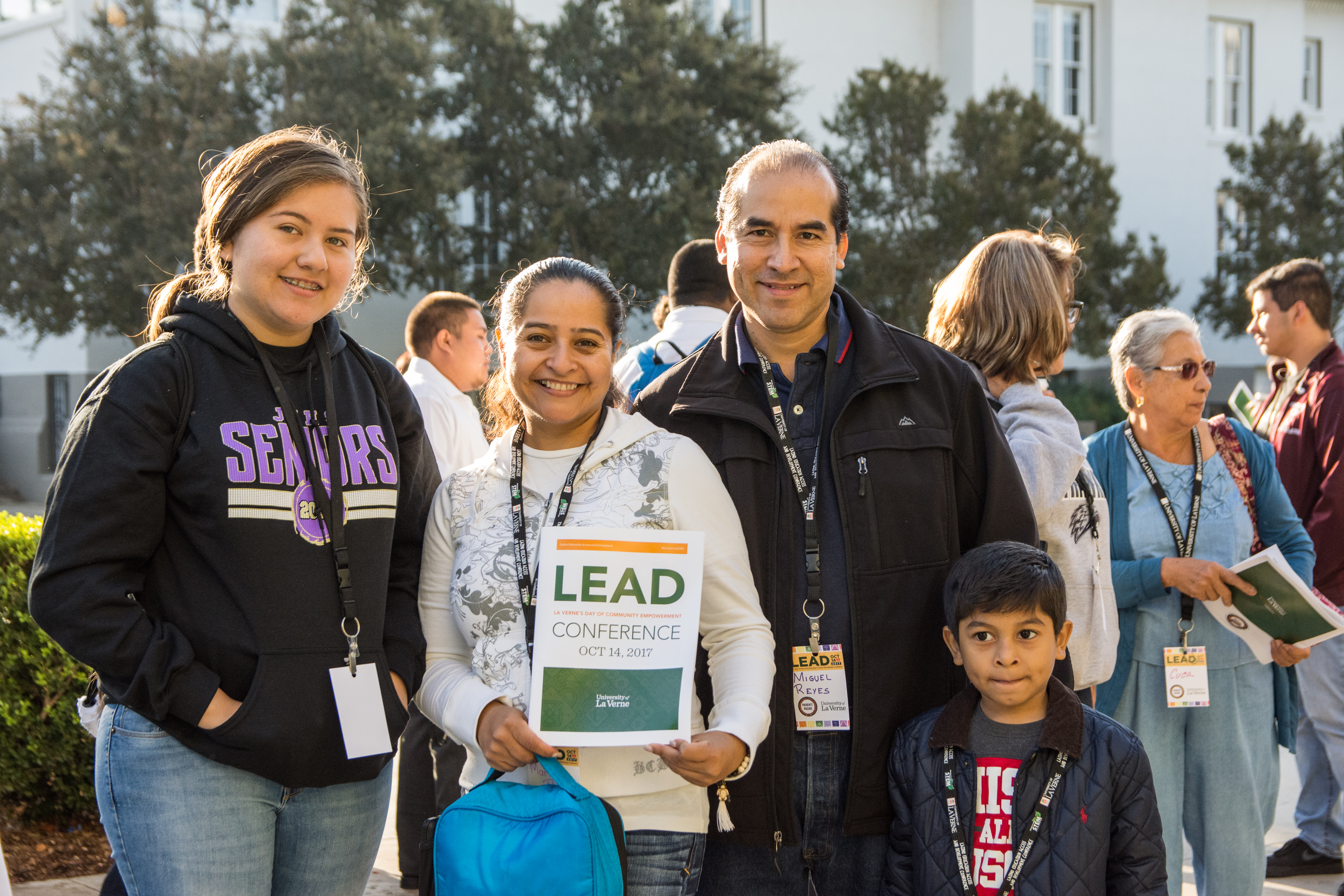 Students and families at the Latino Education Access and Development Conference