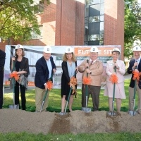 Ludwick Center Groundbreaking