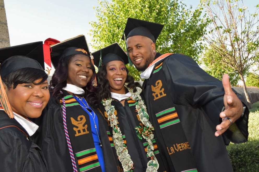 Graduates at the 2018 Commencement Ceremonies