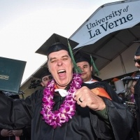 Graduates celebrate at the 2018 Commencement Ceremony