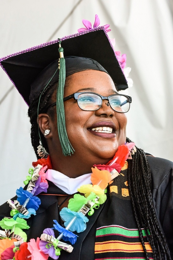 Graduate at the 2018 Commencement Ceremony