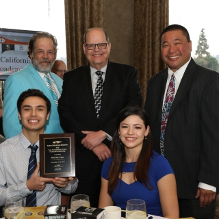 Broadcast Student Receives Southern California Sports Broadcasters Scholarship