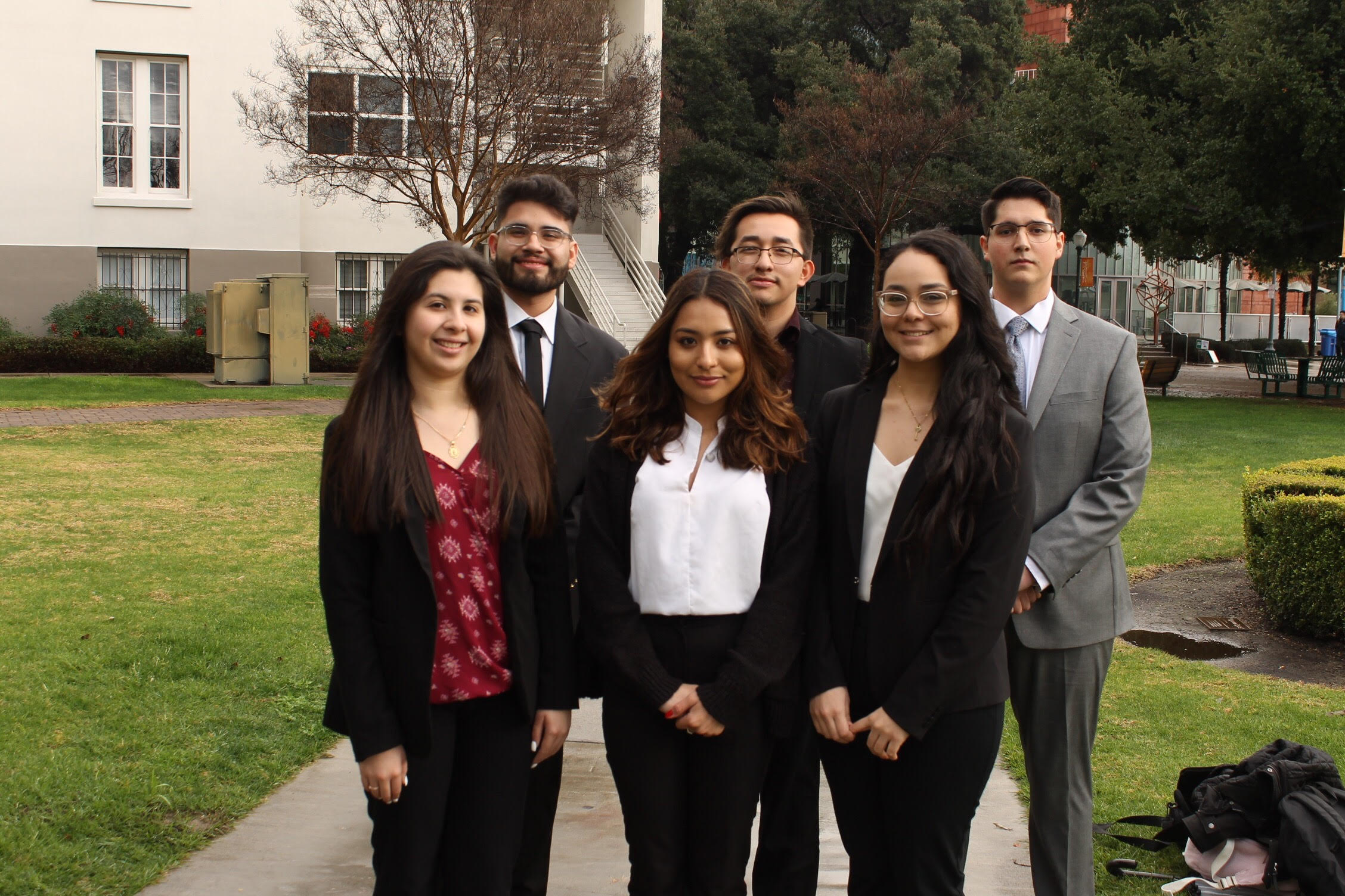 Executive board of ALPFA student chapter
