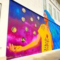 Mural at University of La Verne