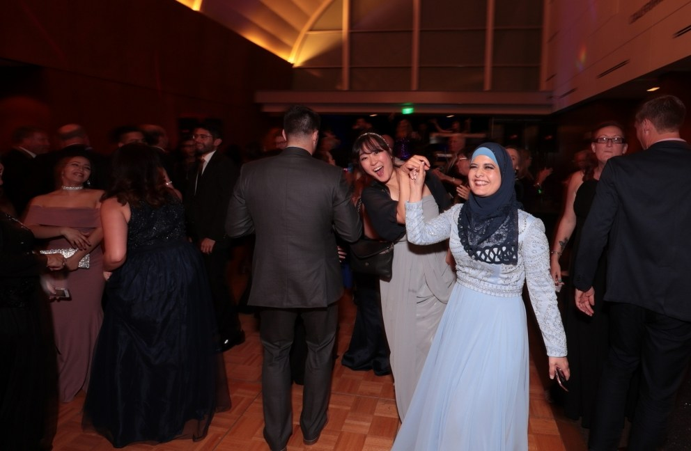 Guests dance the night away at the Scholarship Gala.