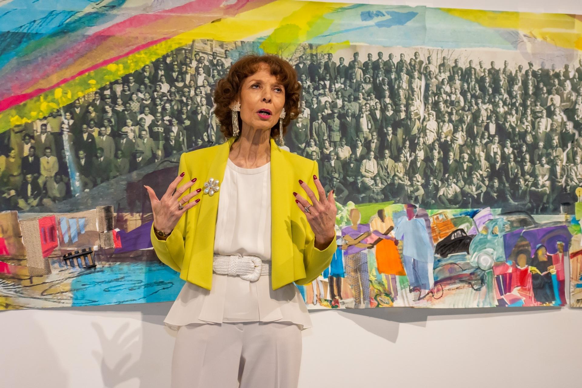 Artist Phoebe Beasley showcases her artwork