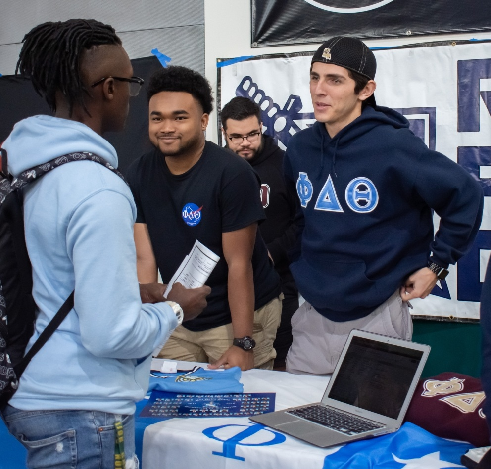 Phi Delta Theta Fraternity members tell future Leos about their organization.