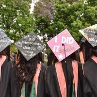 Photo of Students' caps