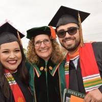 Devorah Lieberman with Nancy and Angel Garcia