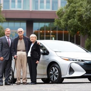 Double Alumna Wins Toyota Prius in University of La Verne Scholarship Fundraiser
