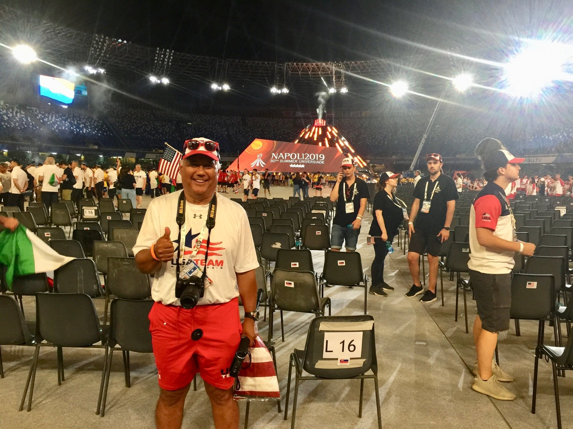 Paul Alvarez at Opening Ceremony
