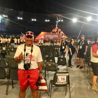 University of La Verne Faculty Assists U.S. Teams at 2019 World University Games