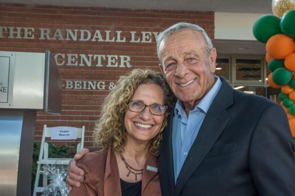 Devorah Lieberman and Fedel Bauccio