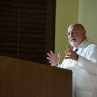 Dr. Lally gives keynote speech