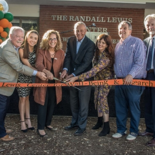 The Randall Lewis Center for Well-Being and Research is Officially Opened