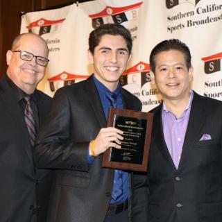 Southern California Sports Broadcasters Award La Verne Broadcast Student