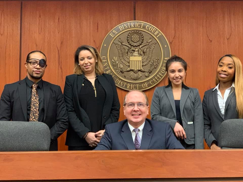 the University of La Verne College of Law brought home awards after competing in the Western Regional Black Law Student Association's Thurgood Marshall Moot Court Competition