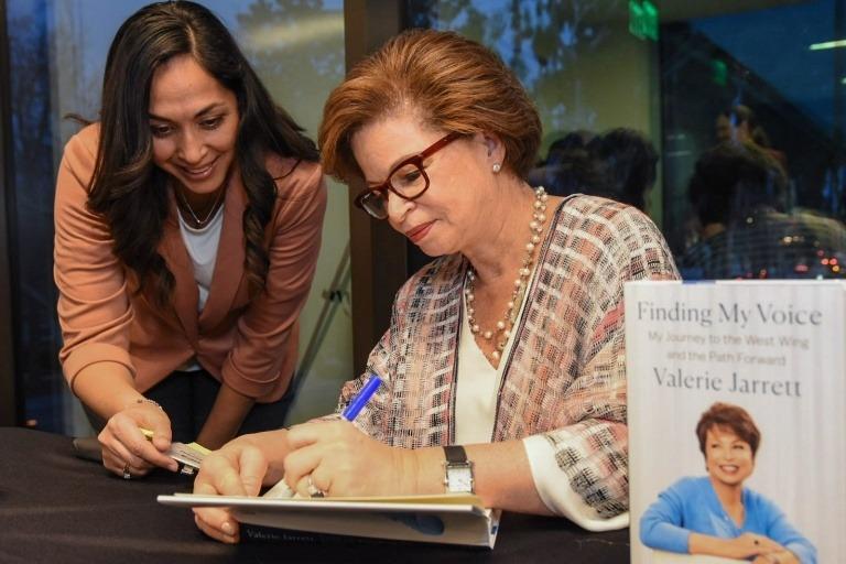 Valerie Jarrett at University of LaVerne