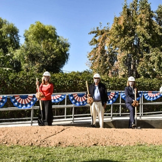 The University of La Verne Celebrates Renovation of New Sara and Michael Abraham Center for Veteran Student Success with Groundbreaking Ceremony