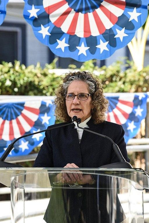 President Lieberman speaks at event on Veteran's Day