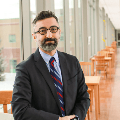 Kerop Janoyan, new provost in academic setting