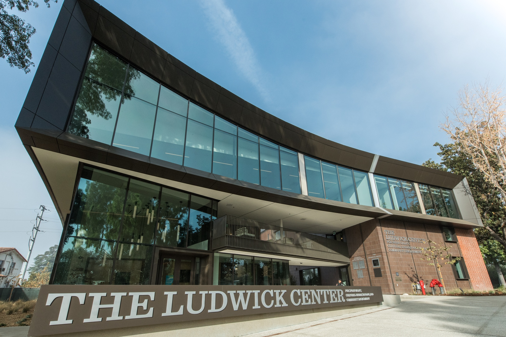 front facade of Ludwick Center