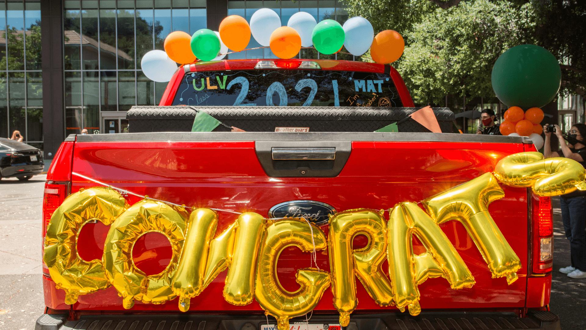 Grad Gift Box Parade Celebration Image 4