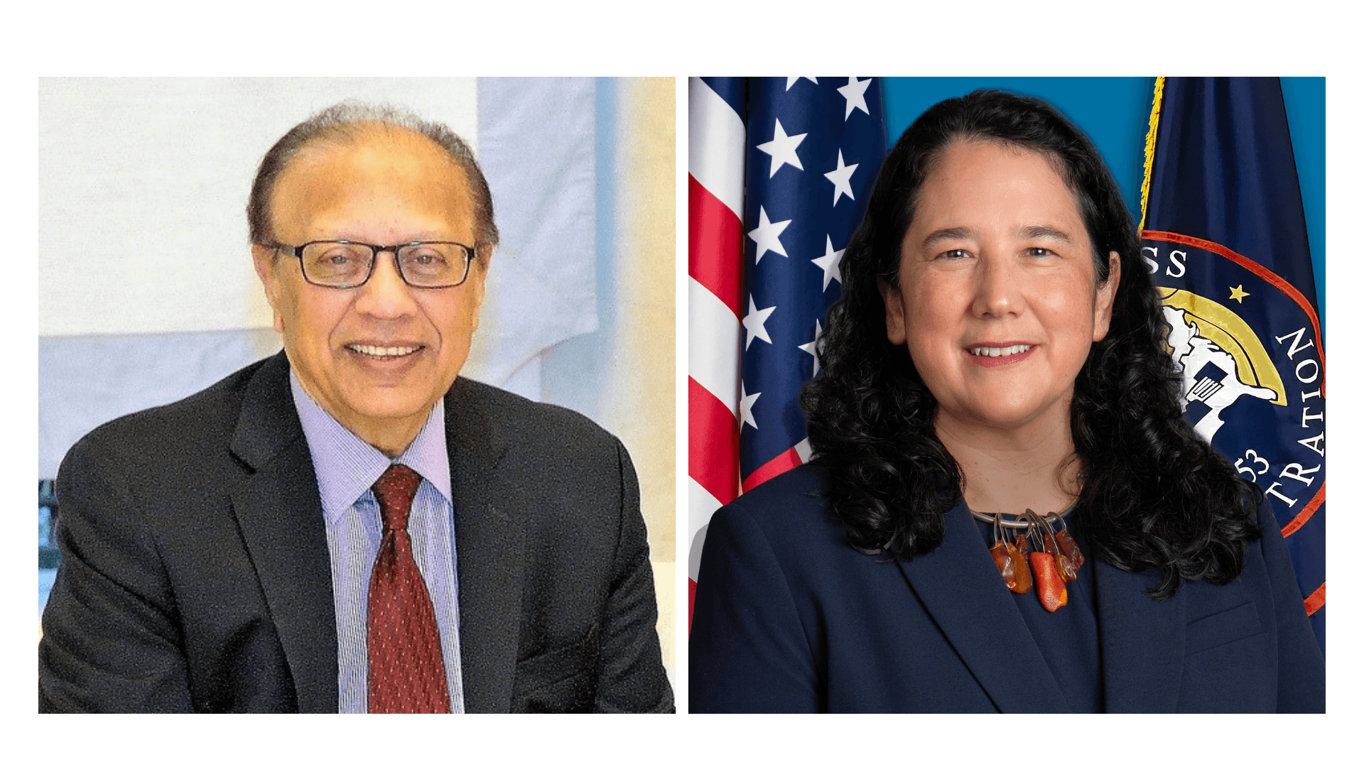 Ambassador Anwarul K. Chowdhury (Left) and Small Business Administration Administrator Isabella Guzman