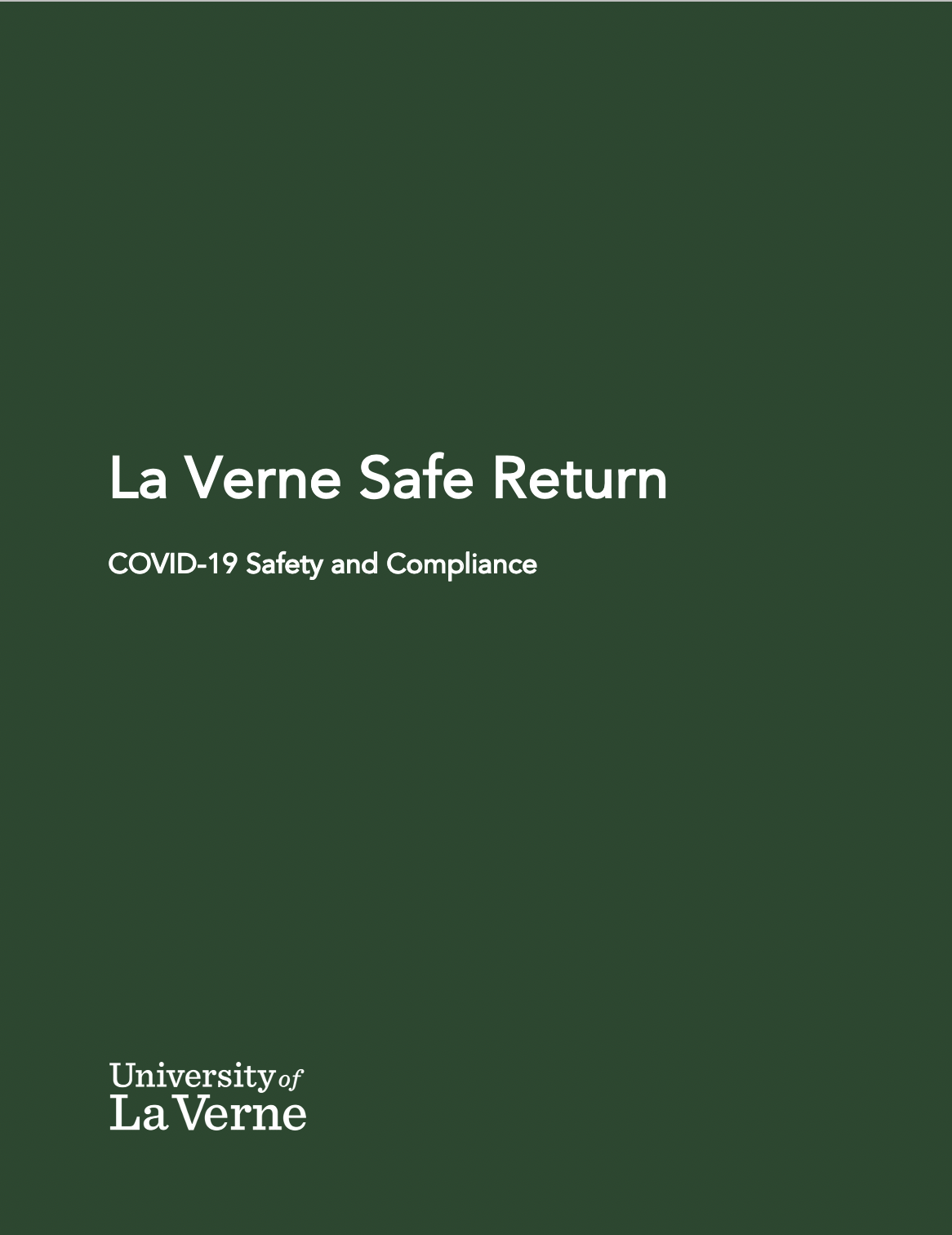 La Verne Safe Return