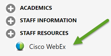 WebEx Meeting Center FAQ | Office of Information Technology