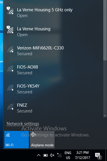 no internet secured fios