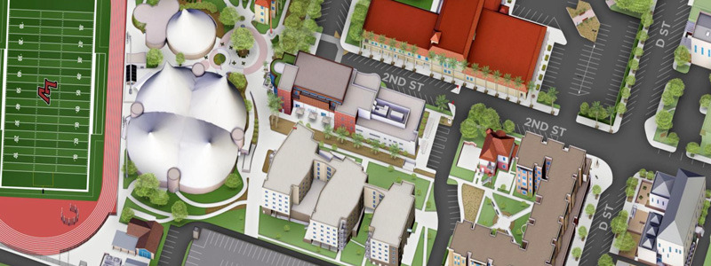 University of LaVerne Campus Map