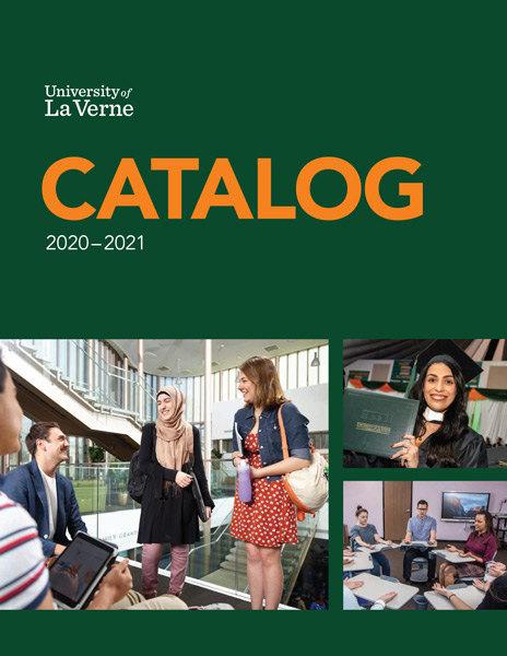 University of LaVerne 2020-21 Course Catalog